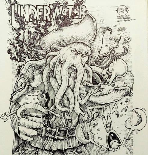INKTOBER - UNDERWATER