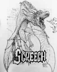 INKTOBER - SCREECH