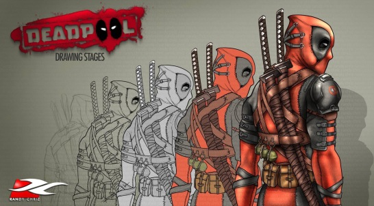 COMICS - Deadpool Progress