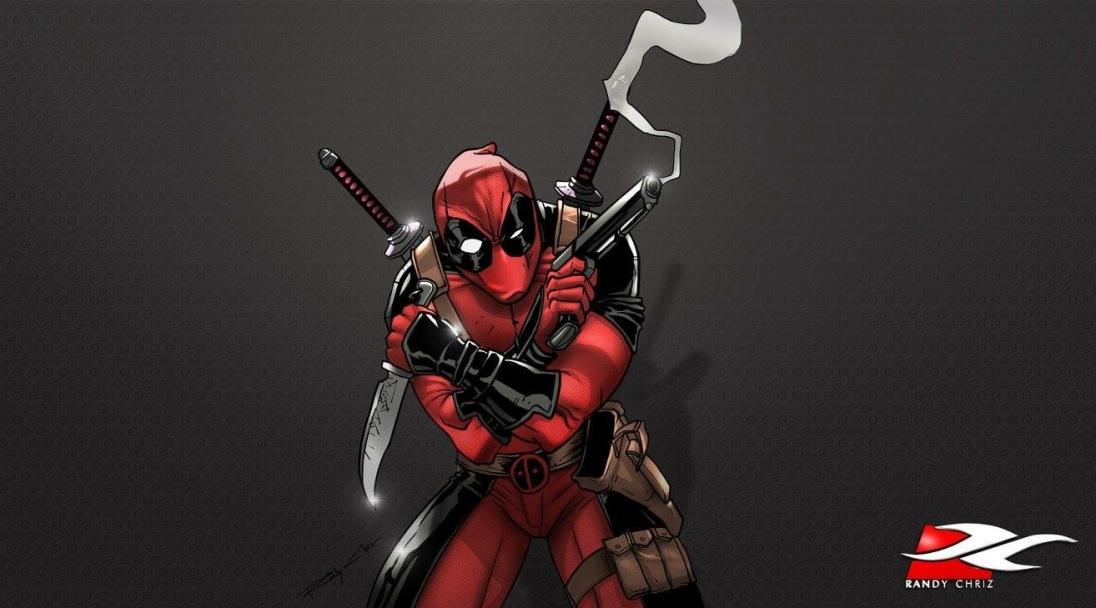 COMICS - Deadpool guns ablazing