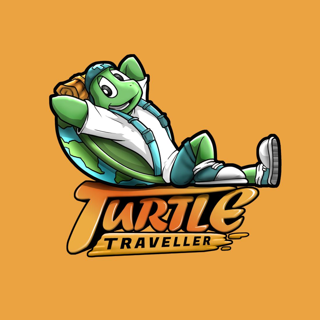 TURTLE - LOGO Orange